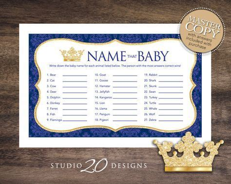 gold themed names instant download royal blue prince name that by