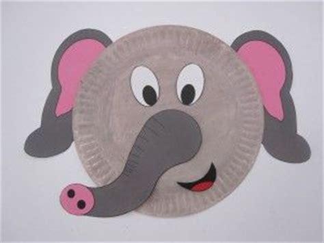 Elephant Paper Plate Craft - elephant paper plate faa quot quot feel elephant arabic