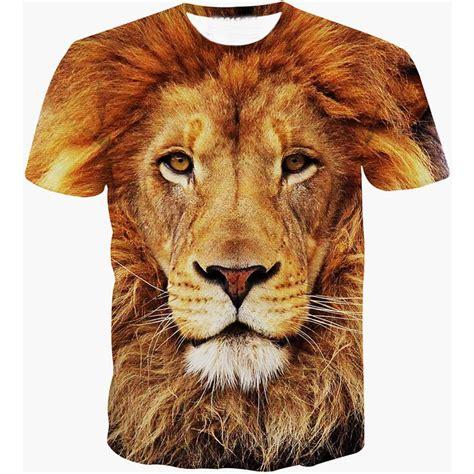 film lion mangeur d homme femme homme t shirts mode 3d t shirt hommes manches