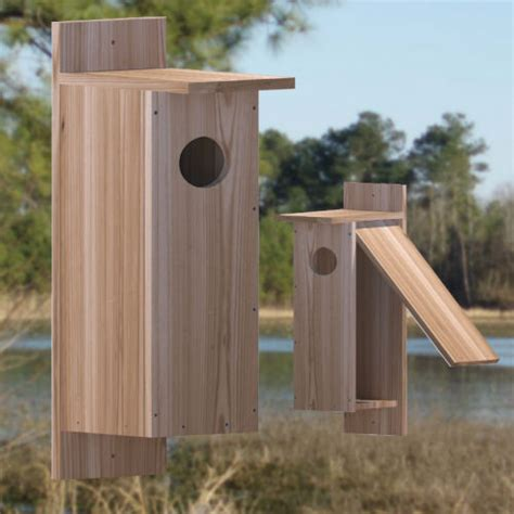pattern for wood duck box nestbox plans for large birds