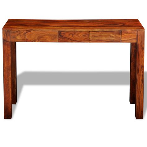vidaxl co uk solid sheesham wood console table cabinet