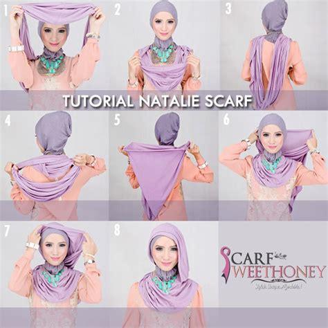 Nathali Style Jilbab cara berhijab modern gaul dan cantik