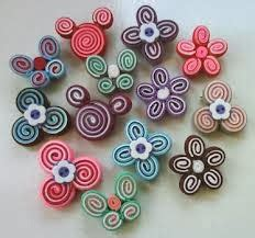 Aplikasi Flanel Keroppi handicraft
