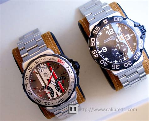 Tagheuer Mclaren Orange Formula 1 Silver Brown Leather review 2011 tag heuer formula 1 series