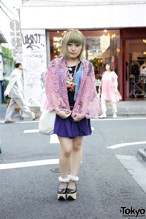 Bag Bodyline 001 Pink handmade shawl line rocking shoes