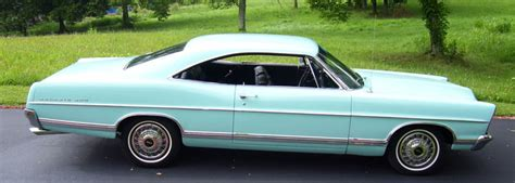 Change Car Upholstery 1967 Ford Galaxie 500