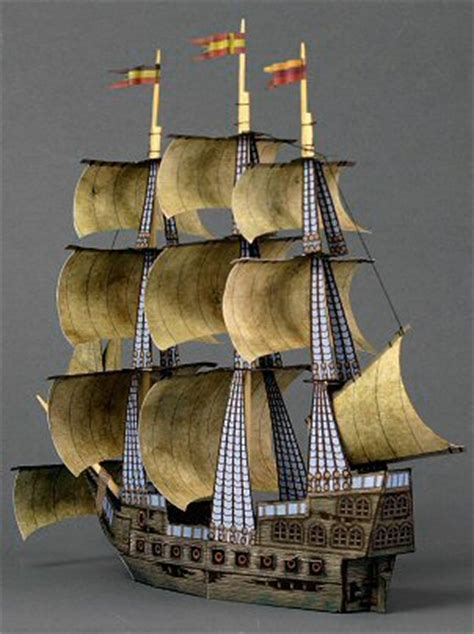 Ship Papercraft - the ghost ship papercraft never die