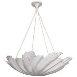 plaster chandelier wp sullivan plaster shell chandelier for sale at 1stdibs