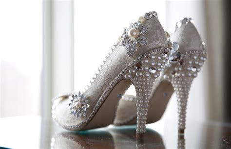 Jeweled Wedding Shoes by Wedding At Historic Loew S Jersey City Theatertruly