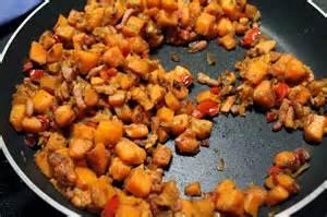 comment cuisiner la patate douce a la poele