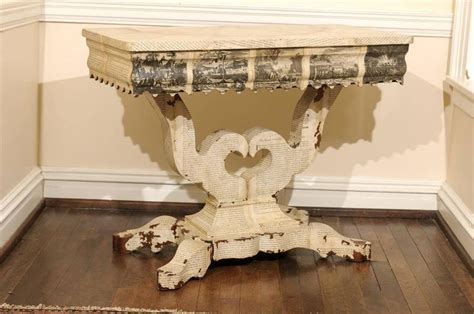 decoupage tables for sale american empire decoupage table for sale at 1stdibs