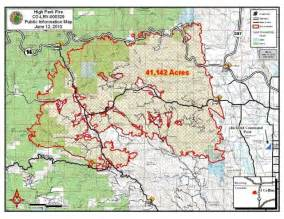 map of colorado wildfire