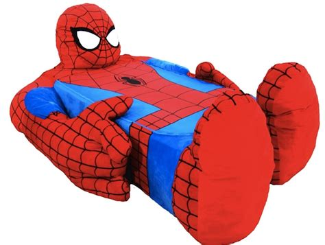 spiderman in bed coolest bed ever spider man bed craziest gadgets