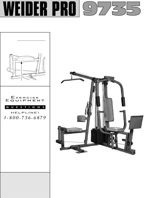 weider home 831 159390 user guide manualsonline