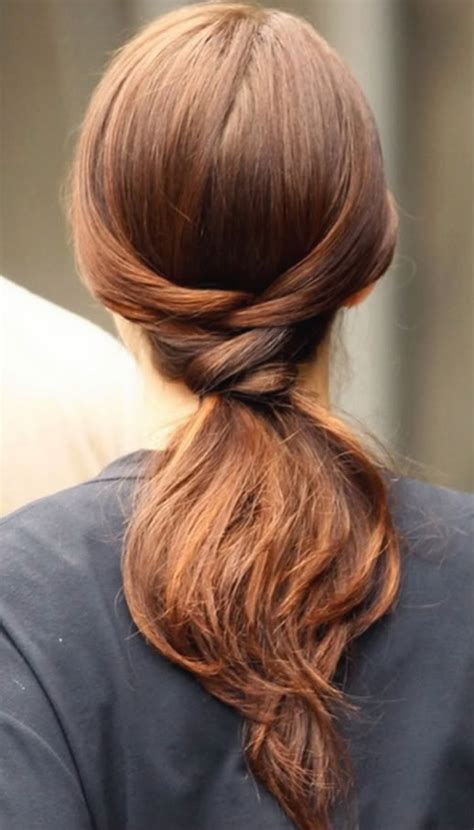 gossip girl hairstyles how to gossip girl hairstyle a twisty ponytail hairstyles for