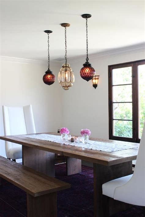 Hanging Lights For Dining Table Pendant Lighting Modern Farm Table Our Home Decor Ideas