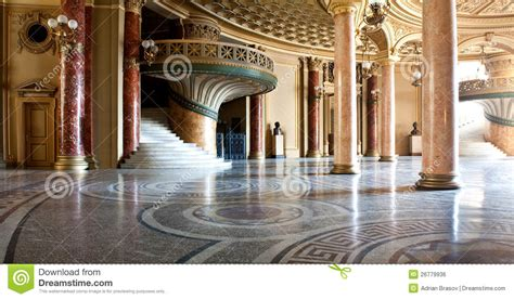 French Chateau Design palace interior royalty free stock image image 26779936