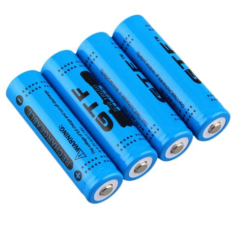 7 4 v li ion battery charger 4pcs 18650 3 7v 12000mah rechargeable li ion battery us