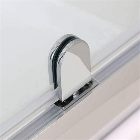Shower Door Pivot Hinges Pivot Hinge Shower Door Enclosure Screen 700 760 800 860 900 1000mm Safety Glass Ebay