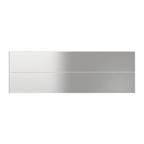 stainless steel drawer slides ikea grevsta drawer front stainless steel 60x10 cm ikea