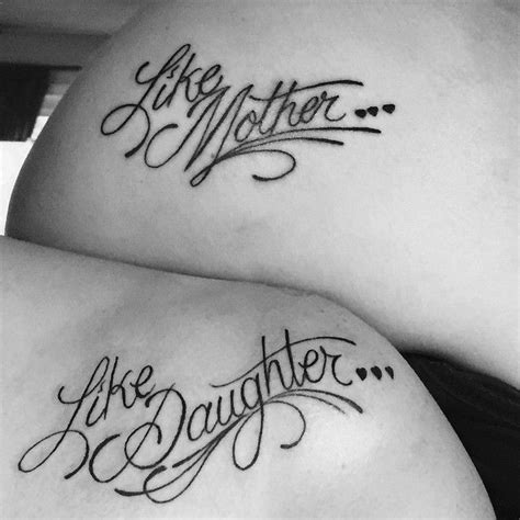 like mother like daughter tattoos like like tattoos of and