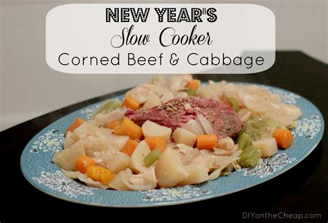new year traditions cabbage new years cooker corned beef cabbage free