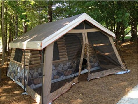 How To Build A Tent Cabin by Log Cabin Tent Home Design Garden Architecture