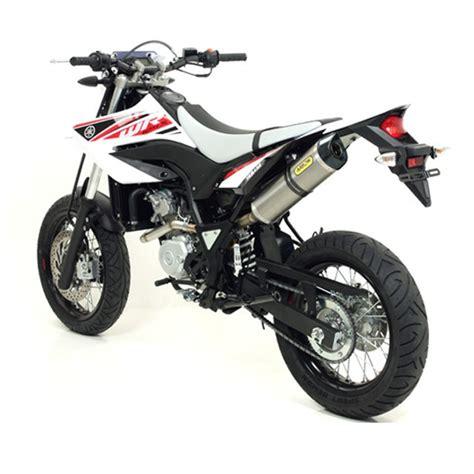 Aufkleber Für Yamaha Wr 125 X by Arrow Auspuff Wr125x Und Wr125r De07 09 Titan Yamaha