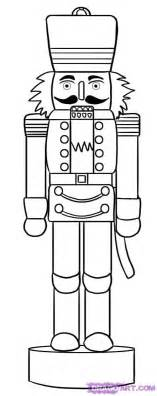 nutcracker coloring page or template gifts and