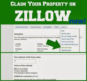 zillow home values by address claim your property on zillow okie home
