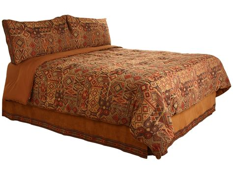 croscill yosemite comforter set king brown shipped free