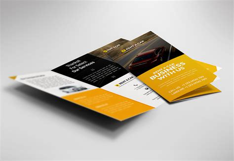 Car Dealer And Services Trifold Brochure Free Psd Psdfreebies Com Brochure Template Psd