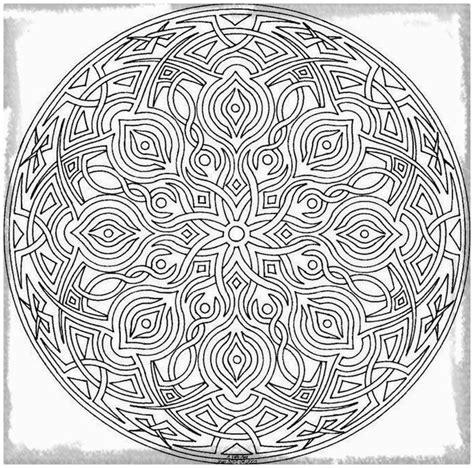 Imagenes De Mandalas Muy Dificiles | mandalas muy dificiles para colorear archivos dibujos de