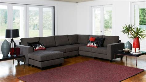 lounge suite with chaise yarra corner modular lounge suite with chaise living