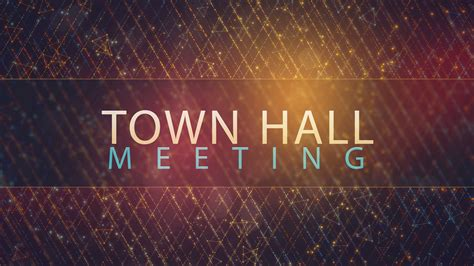 Town Hall Meeting ? Bettendorf