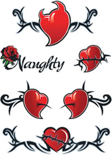 devils rose tattoo hearts tattoos tattooforaweek temporary