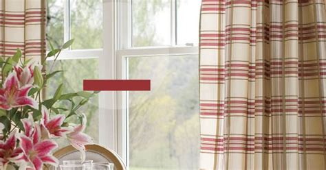 "Country Curtains catalog   ""Greenwich Plaid"" panels"