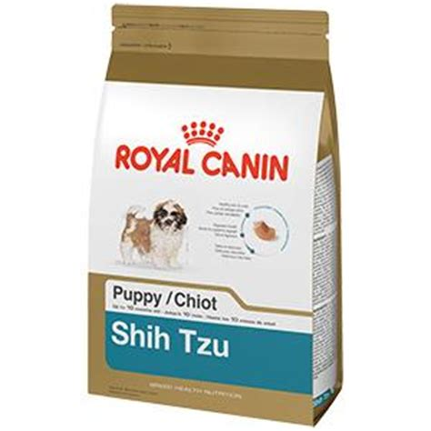 royal canin shih tzu puppy royal canin breed health nutrition shih tzu puppy food 2 5 pound