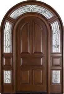 Corbel Custom Homes Door Wood With Finish Model