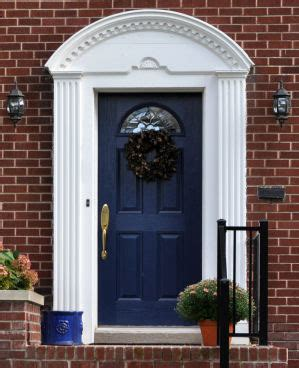red brick house door colors the thrifty home 86th penny pinching party door color