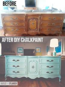 Redoing My Bedroom diy chalk paint recipe thrift store dresser makeover