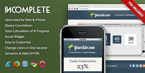 themeforest xenon best coming soon under construction website templates