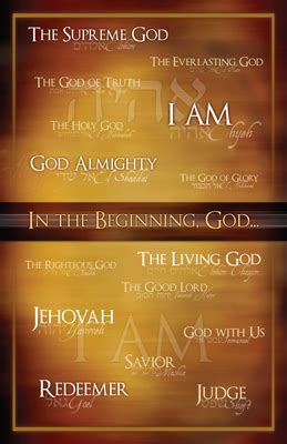 names  god poster answers  genesis