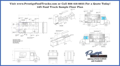 Home Interior Design Orlando by Custom Food Truck Floor Plan Samples Prestige Custom