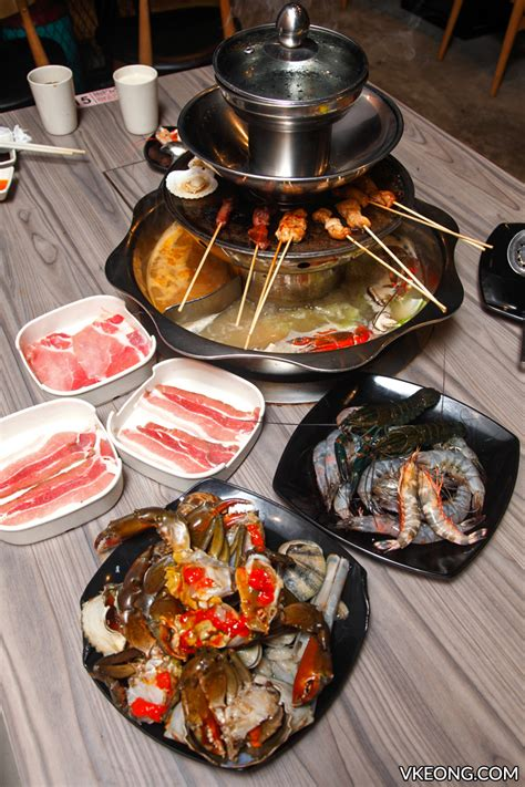 steamboat kepong oppa steamboat buffet 欧巴火锅 4 tier steamboat kepong