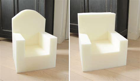 fauteuil mousse mousse pour fauteuil lille