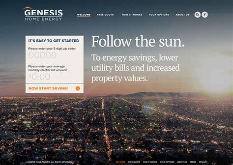 genesis home services genesis home energy on behance
