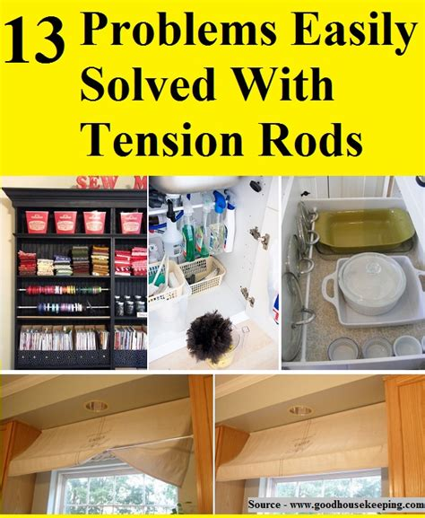 8 problems that can be easily solved by machine learning 13 problems easily solved with tension rods home and