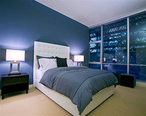 modern blue bedroom eye catching paint colors for the bedroom