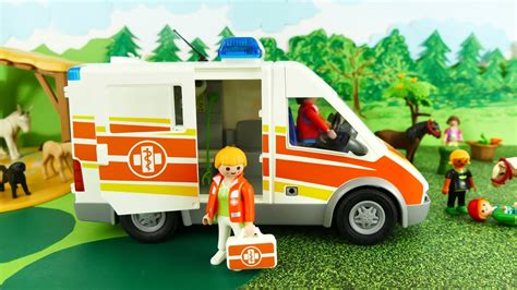 Playmobil Krankenwagen 1757 playmobil krankenwagen playmobil ambulance city
